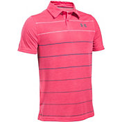 Under Armour Boys' JS Takedown Pivot Golf Polo