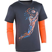 Under Armour Little Boys' Illuminated Receiver Slider Long Sleeve Shirt