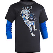 Under Armour Little Boys' Illuminated Dunk Slider Long Sleeve Shirt