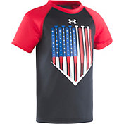 Under Armour Little Boys' American Batter Raglan T-Shirt