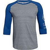 Under Armour Boys' MVP Utility ¾ Sleeve Shirt