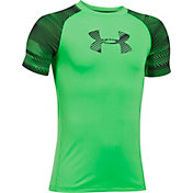 Under Armour Boys' Armour HeatGear Train to Game T-Shirt