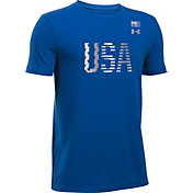 Under Armour Boys' USA Graphic T-Shirt