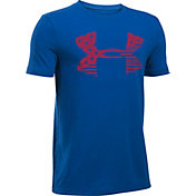 Under Armour Boys' USA Big Logo Graphic T-Shirt