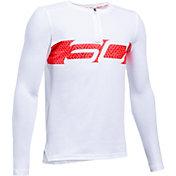 Under Armour Boys' SC30 Logo Basketball Long Sleeve Shirt