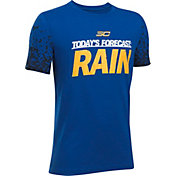 Under Armour Boys' SC30 Forecast Rain Graphic Basketball T-Shirt