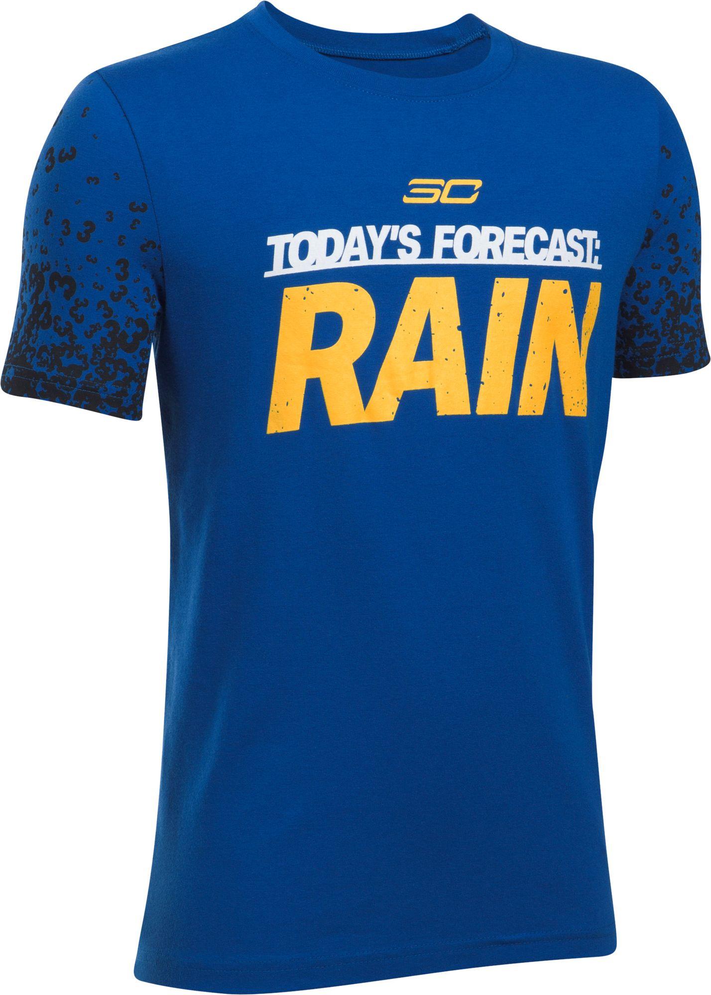Under Armour Boys' SC30 Forecast Rain Graphic Basketball T-Shirt ...