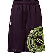 Under Armour Boys' SC30 Graphic Basketball Shorts