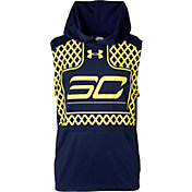 Under Armour Boys' SC30 Graphic Basketball Sleeveless Hoodie