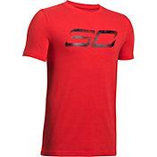 Under Armour Boys' SC30 Logo Graphic Basketball T-Shirt