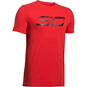 Under Armour Boys' SC30 Logo Graphic Basketball T-Shirt