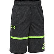 Under Armour Boys' SC30 Printed Spear Basketball Shorts