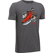 Under Armour Boys' SC30 Straight Fire Graphic Basketball T-Shirt