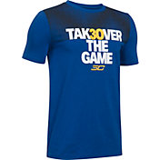 Under Armour Boys' SC30 Takeover Graphic Basketball T-Shirt