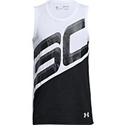 Under Armour Boys' SC30 Basketball Tank Top