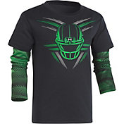 Under Armour Little Boys' Speedlines Helmet Slider Long Sleeve Shirt