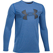 Under Armour Boys' Threadborne Tech Long Sleeve Shirt