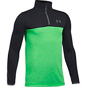 Under Armour Boys' Threadborne 1/4 Zip Shirt