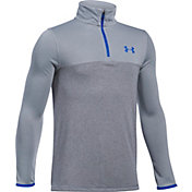Under Armour Boys' Threadborne 1/4 Zip Shirt