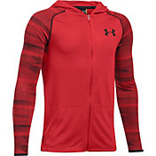 Under Armour Boys' Threadborne Fleece Full Zip Hoodie