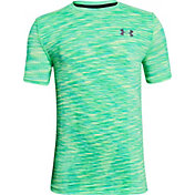Under Armour Boys' Threadborne Knit T-Shirt