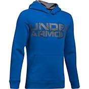 Under Armour Boys' Threadborne Fleece Logo Hoodie