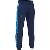 Under Armour Boys' Threadborne Printed Jogger Pants