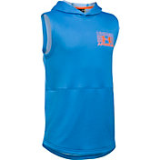 Under Armour Boys' Train to Game Sleeveless Hoodie