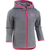 Under Armour Girls' Cozy Full Zip Hooded Fleece Jacket