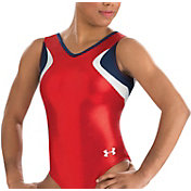 Under Armour Girls' Unity Gymnastics Tank Leotard