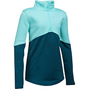 Under Armour Girls' Expanse Quarter Zip Pullover