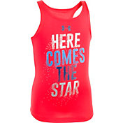 Under Armour Little Girls' Here Comes The Star Tank Top