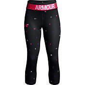 Under Armour Girls' HeatGear Armour Novelty Capris