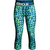 Under Armour Girls' HeatGear Armour Novelty Capris