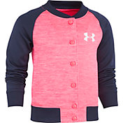 Under Armour Little Girls' Elevated Armour Fleece Bomber Jacket