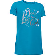 Under Armour Girls' Play Like A Girl Graphic T-Shirt