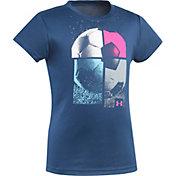 Under Armour Little Girls' Soccer T-Shirt
