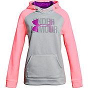 Under Armour Girls' Armour Fleece Big Logo Hoodie