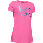 Under Armour Girls' Stronger Than You Think Graphic T-Shirt