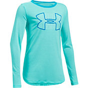 Under Armour Girls' Threadborne Knit Long Sleeve Shirt