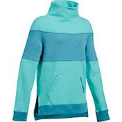 Under Armour Girls' Threadborne Slouchy Crew Sweatshirt