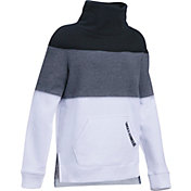 Under Armour Girls' Threadborne Slouchy Crew Sweatshirt
