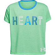 Under Armour Girls' Heart Graphic T-Shirt
