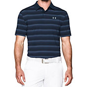 Under Armour Men's CoolSwitch Bermuda Stripe Golf Polo