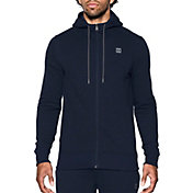 Under Armour Men's Baseline Full Zip Basketball Hoodie
