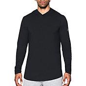 Under Armour Men's Baseline Hooded Long Sleeve Basketball Shirt