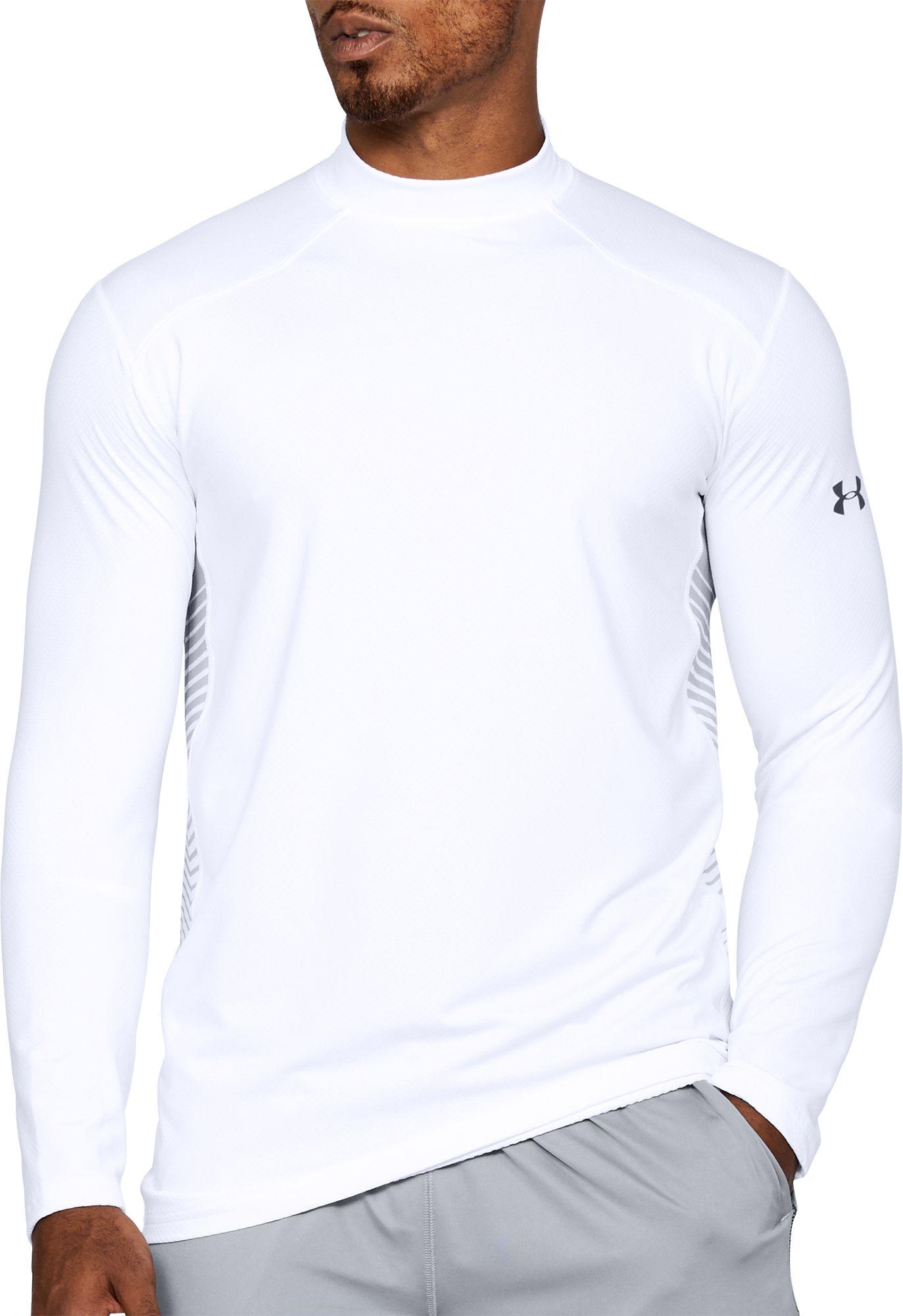 Under Armour Men's ColdGear Reactor Fitted Long Sleeve T-Shirt ...