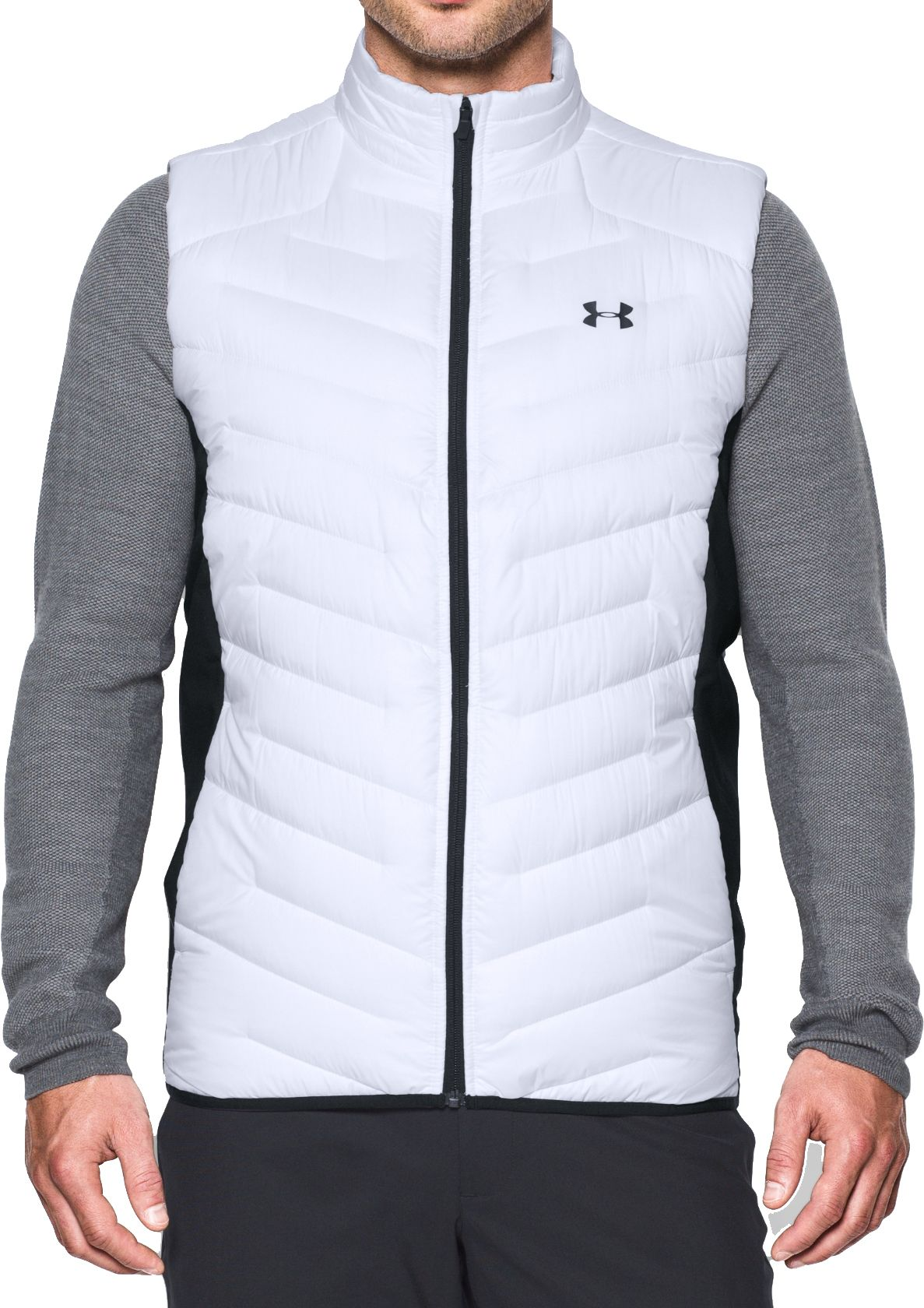 under armour quarter zip men. product image · under armour men\u0027s coldgear infrared reactor golf vest quarter zip men l