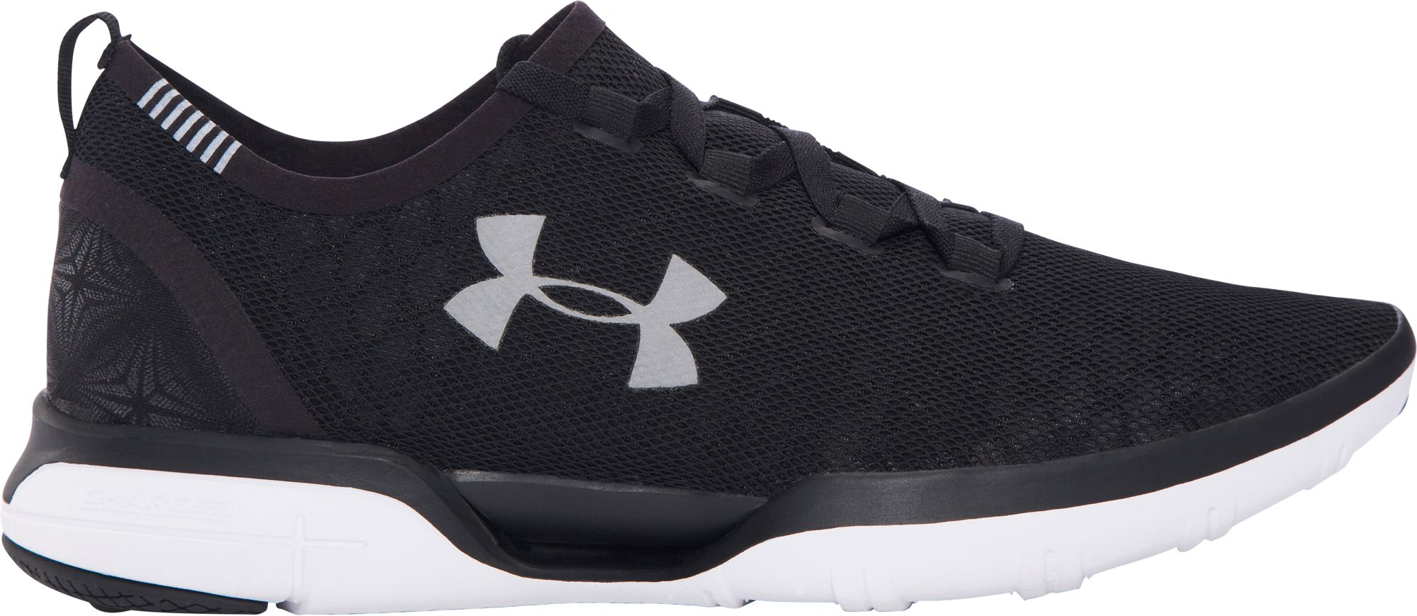 under armour running shoes black and white. under armour men\u0027s charged coolswitch running shoes black and white s