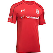 Under Armour Men's Deportivo Toluca FC 17/18 Home Stadium Jersey